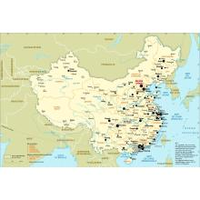 Chine : carte administrative