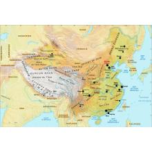 Chine : carte physique