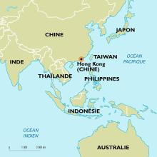 Carte Chine Philippines.Planisphere Hong Kong Chine Cartes Encyclopaedia