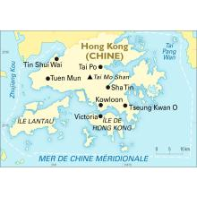 Carte Chine Est.Planisphere Hong Kong Chine Cartes Encyclopaedia