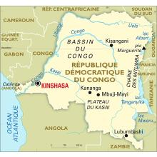 Carte Afrique Kinshasa.Planisphere Congo Republique Democratique Du Cartes