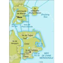 Macao [Chine] : carte physique