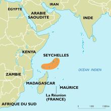 Seychelles : carte de situation