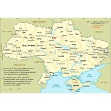 Ukraine : carte administrative
