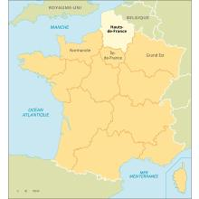 Hauts-de-France : carte de situation