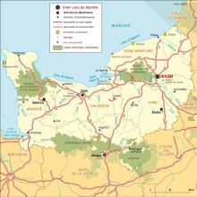 Normandie : carte administrative
